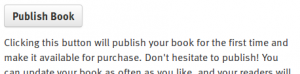 Leanpub's Publish button