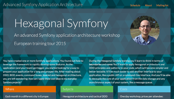 Hexagonal Architecture training website